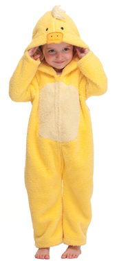 Child in Ducksuit